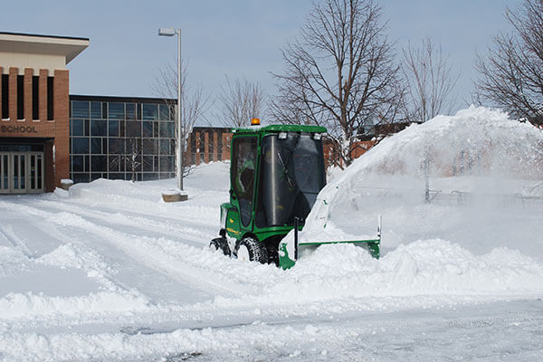 commercial snow cleaning York Region
